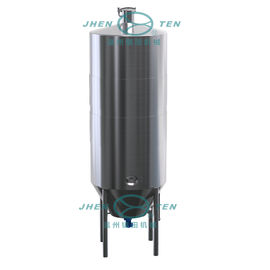 China Vertical Circular Stainless Steel Storage Tank Wine Fermentation Tank With SS304 SS316 distributor