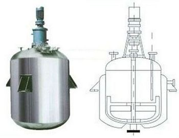 China High Pressure Stirred Tank Reactor With Vertical Circular Tanks SS304 SS316 distributor