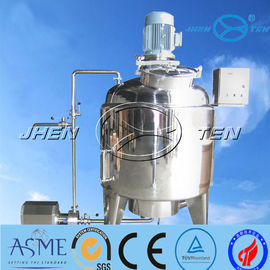 China Emulsification Stainless Tank Mixer For Dairy Food Yogurt Cheese Ss316 2000L 10000L distributor