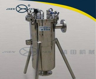China Side Entry Bag Filter Housing , Cartridge Filter Housing Dimension Custom ASME Certified distributor