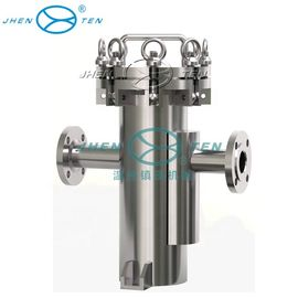 China Hydraulic Basket Strainer Mesh Type Pipe Sanitary Industrial Oil Filter Housing distributor