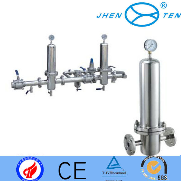 sanitary gas filter stainless steel 304 or 316L steam filter for 226 or 222 connection code 7 code 5